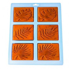 Palksky Silicone Mold, Palm olive leaves Craft Art Silicone Soap Mold Craft Molds DIY Handmade Soap Molds - Soap Making Supplies
